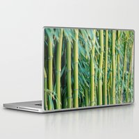 bamboo Laptop & iPad Skins featuring Bamboo by Laura Ruth