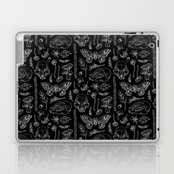 Witchcraft II [B&W] Laptop & iPad Skin