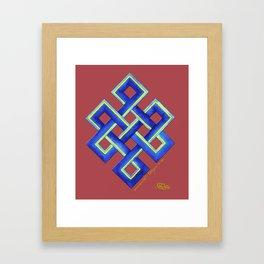 Endless Knot Framed Art Print