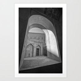 Jabreen Castle, Oman Art Print