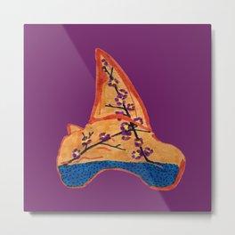 Shark Tooth Terrarium 3 Metal Print