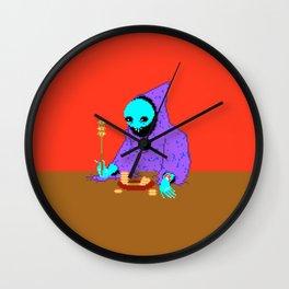 Carrot Soup Wall Clock