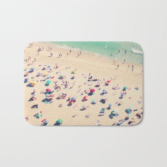 beach summer in love Bath Mat