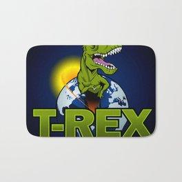 T Rex Dinosaur in the planet Bath Mat