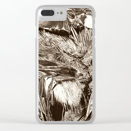 Foiled Clear iPhone Case