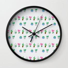 Kirsten's Air Plants Wall Clock