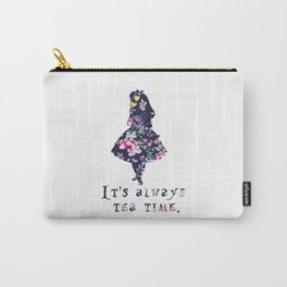 Alice floral designs - Always tea time Carry-All Pouch