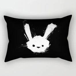 minima - splatter rabbit  Rectangular Pillow