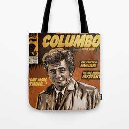 Columbo - TV Show Comic Poster Tote Bag