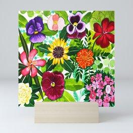 Flower Portraits Mini Art Print