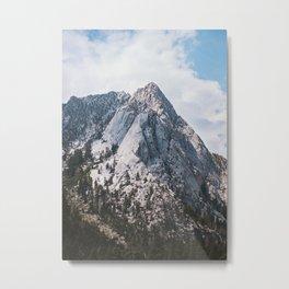 Thor peak Metal Print