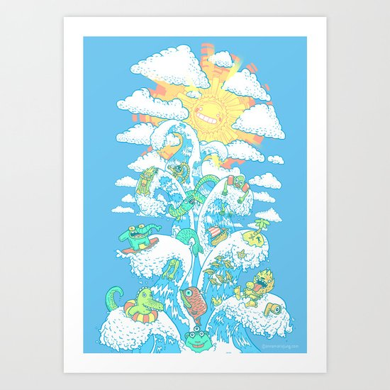 Tower of Fable Art Print