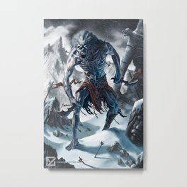 Frost Wight Metal Print