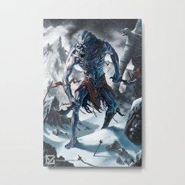 Frost Wight Metal Print