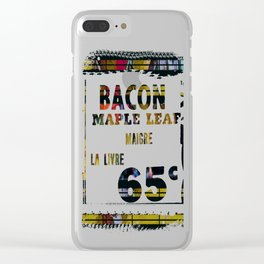 Golden As We Once Were Clear iPhone Case