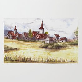 French Village Rug