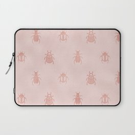 Beetles en rose gold Laptop Sleeve