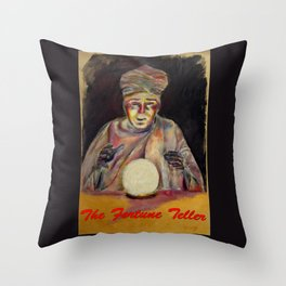 The Fortune Teller Throw Pillow