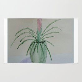 Bromeliad Plant Rug