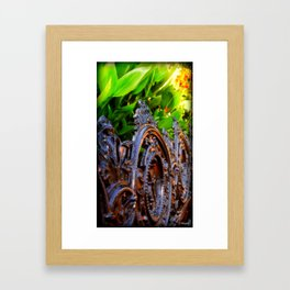 Delicate Metal Framed Art Print