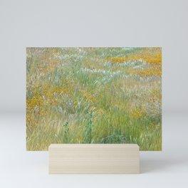 Wildflowers Field 2 Mini Art Print