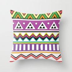 Colouful Aztec Throw Pillow