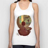 bigfoot Tank Tops featuring Hello Bigfoot! by Silvio Ledbetter