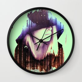 Love Affair with Suicide Witch Wall Clock