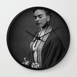 Frida Art Wall Clock