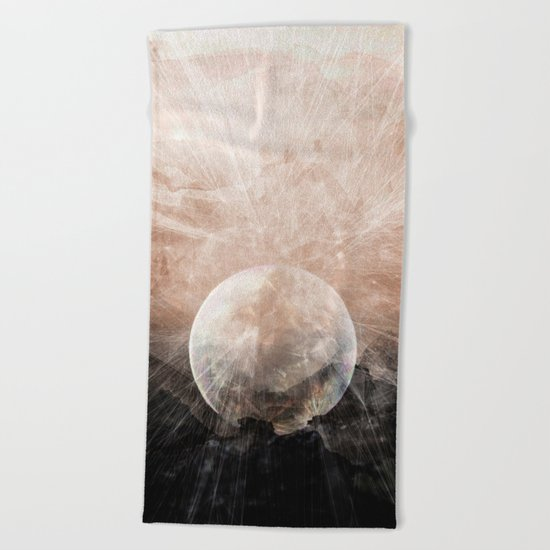 Planetary Soul Grace Beach Towel
