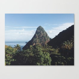 Afternoon in St. Lucia Canvas Print