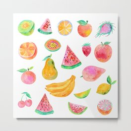 Fruit party Metal Print