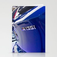 bmw Stationery Cards featuring BMW M135i back by Mauricio Santana
