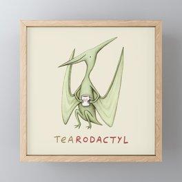 Tearodactyl Framed Mini Art Print