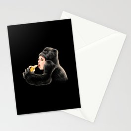 Banana is a favorite Stationery Cards