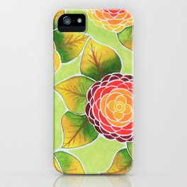 Summer in Green iPhone Case