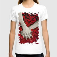 hands T-shirts featuring Hands by MARIA BOZINA - PRINT