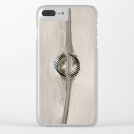 Lines and shadows Clear iPhone Case