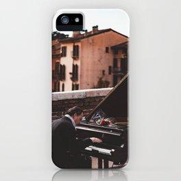 pianist iPhone Case