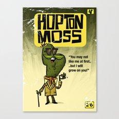 Hopton  Moss - Privet Detective Canvas Print