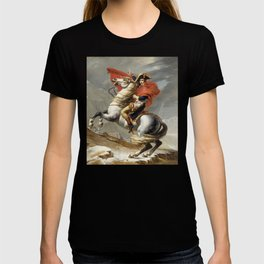 Bonaparte - The Emperor Napoleon - Jacques Louis David T-shirt