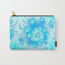 Abstract Christmas Ice Garden Carry-All Pouch