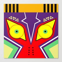 majora Canvas Prints featuring MAJORA by pipocaVFX