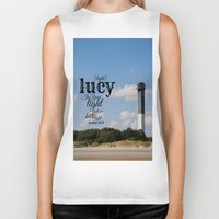 lucy Biker Tanks featuring Lucy by KimberosePhotography
