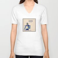 buildings V-neck T-shirts featuring Buildings... by DrunkenMasters