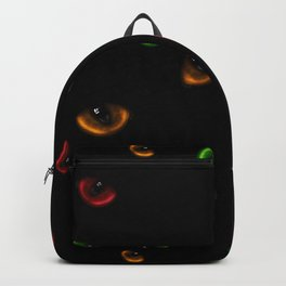 A lot of dangerous wild cat eyes Backpack