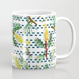 Beautiful Australian Native Grevillea Flower Print Coffee Mug