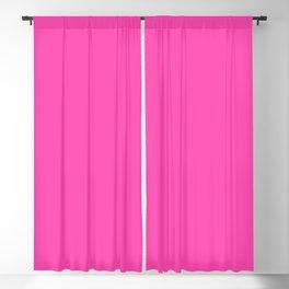 Fluorescent Neon Pink // Pantone® 806 U Blackout Curtain