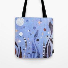 BLUE UNTITLED Tote Bag