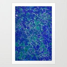 Mapping My Mind Art Print